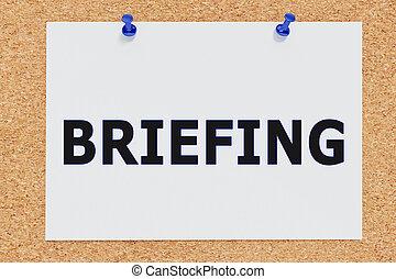 briefing, -, concept, informationnel
