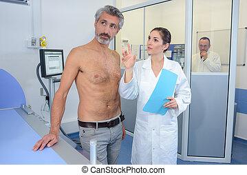 briefing, patient, docteur
