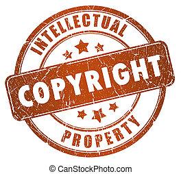 briefmarke, copyright