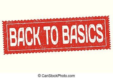 briefmarke, gummi, grundlagen, grunge, zurück