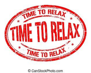 briefmarke, gummi, zeit, grunge, entspannen