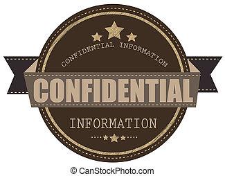 briefmarke, informationen, vertraulich