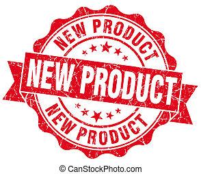 briefmarke, neues produkt, grunge