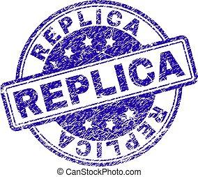 briefmarke, reproduktion, grunge, textured, siegel