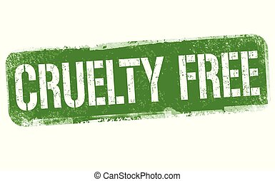 briefmarke, zeichen, oder, frei, grausamkeit
