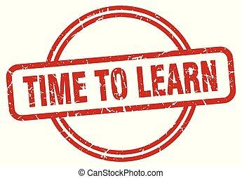 briefmarke, zeit, grunge, lernen