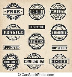 briefmarken, gewerblich, set2