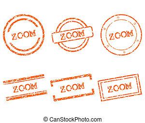 briefmarken, zoom