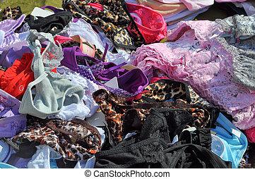 Woman short briefs or panties underwear