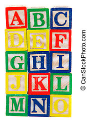brieven, blok