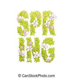 """brieven, van, groen, """"spring"""""""