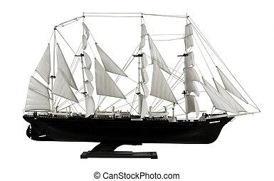 brigantine sailing vessel sail souvenir model
