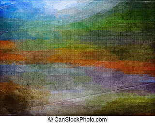 Bright abstract art vintage background - This image was...