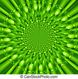 Bright green abstract background for design