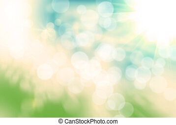 abstract bokeh background - Bright abstract bokeh background