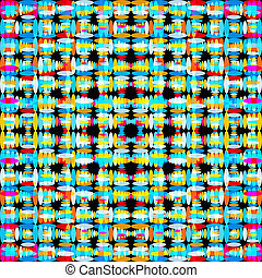 bright abstract geometric pattern illustration