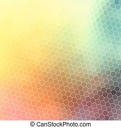 bright abstract pattern polygons
