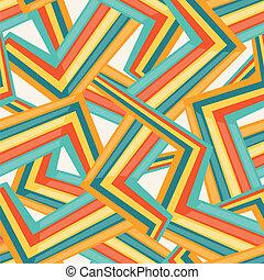 Bright abstract seamless geometric pattern.