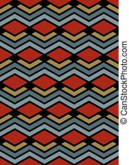 Bright abstract seamless pattern