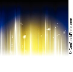 Bright abstract shiny background