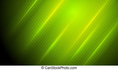 Bright abstract shiny green mesh texture video animation