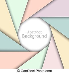 Bright abstract tech abstract background. Vector design