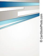 Bright abstract tech corporate design