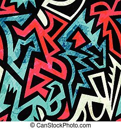 bright ancient seamless pattern