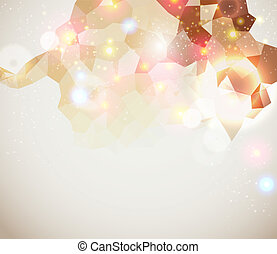 Bright and sparkling page layout for your presentation.
