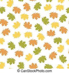 Bright autumn background, vector illustration