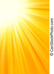 Bright sunny yellow color background