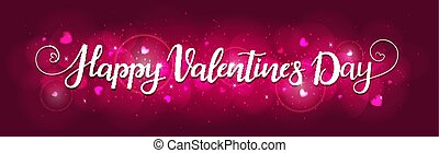 Bright background for Valentines day