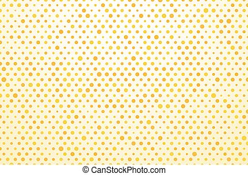 background with yellow polka dots