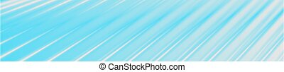 Bright blue and grey striped smooth abstract banner design