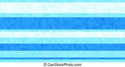Bright Blue Grunge Stripe Paper Texture. Retro Vintage Scrapbook Lines Background.