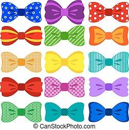 Bright bow set