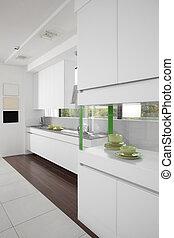 Bright brand new european kitchen - european brand new ...