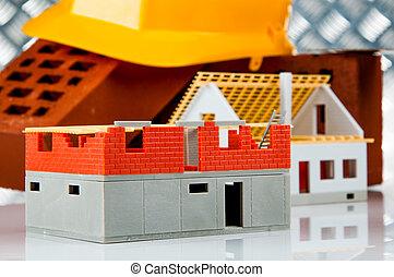 Bright building concept