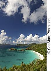 Bright Caribbean Beach St John USVI