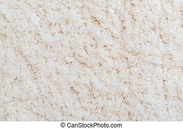 Bright carpet texture close up as background. Home interior decoration.