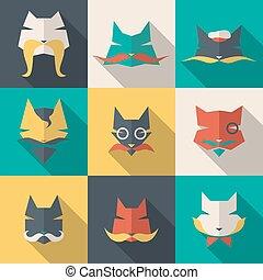Bright cats