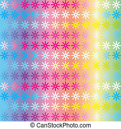 Bright christmas background with gradient for design, vector