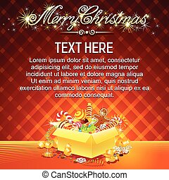 Bright Christmas Card.