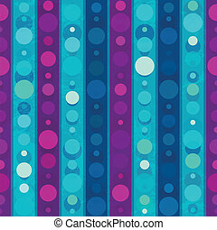 bright circles seamless patern