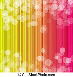 Bright color background with boke
