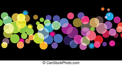 Bright color dots pattern - Vector - Illustration of...