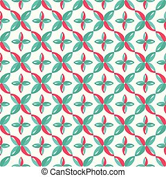 bright colored abstract seamless pattern on white background qualitative vector illustration for your design