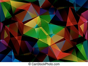 bright colored background