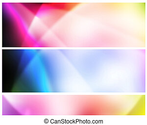 Bright colorful abstract in vivid beautiful lights