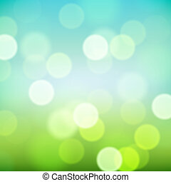 Bright blurred natural background, vector Eps10 illustration.
